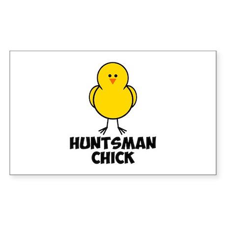John Huntsman Chick Sticker (Rectangle)