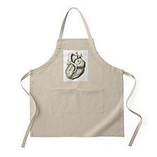 Cute Anatomy heart Apron