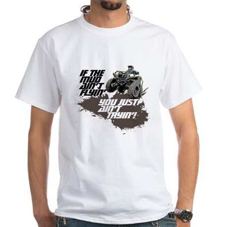 ATV RIDER White T-Shirt