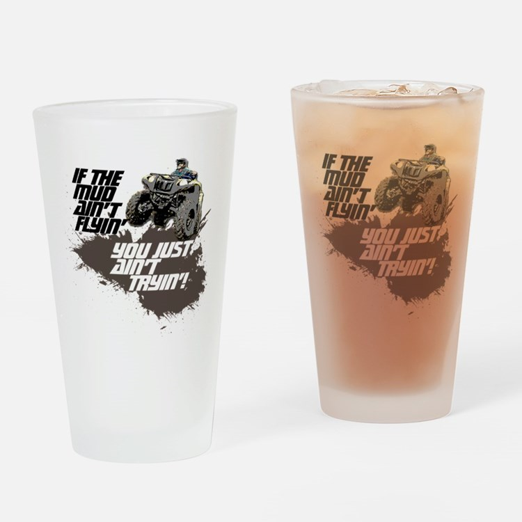 ATV RIDER Drinking Glass