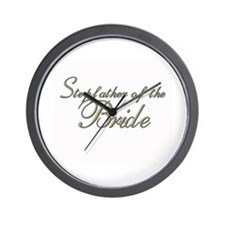 Stepfather of the Bride Wall Clock