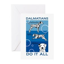 The Versatile Dalmatian Greeting Cards (Pk of 20)
