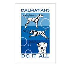 The Versatile Dalmatian Postcards (Package of 8)