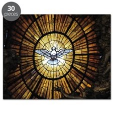 Dove Window at St. Peter's Basilica Puzzle