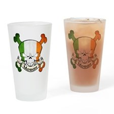 Moran Skull Drinking Glass