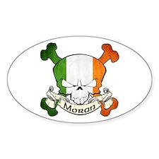 Moran Skull Decal