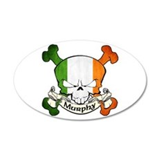Murphy Skull Wall Decal