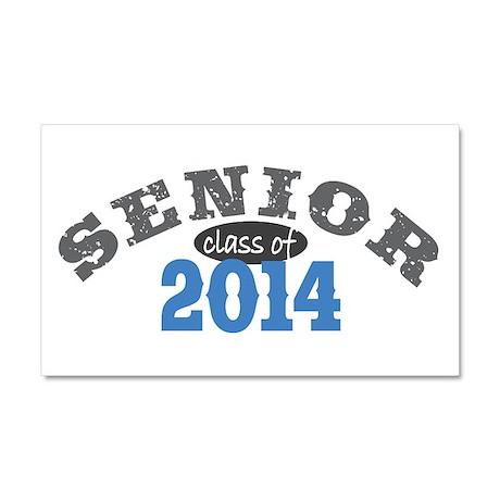 Senior Class of 2014 Car Magnet 20 x 12