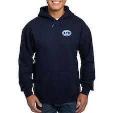 Nantucket MA - Oval Design Hoodie