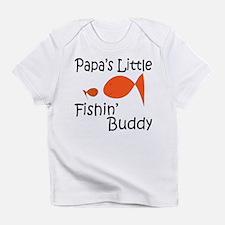 Papa's Little Fishing Buddy Infant T-Shirt