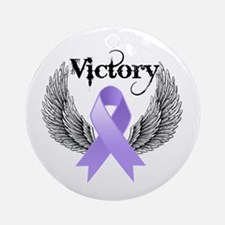 Victory General Cancer Ornament (Round)
