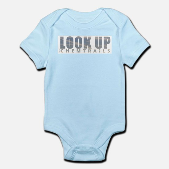 LOOK UP - Chemtrails Infant Bodysuit