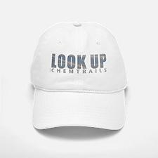 LOOK UP - Chemtrails Baseball Baseball Cap