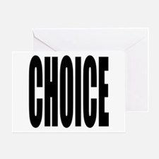 CHOICE Greeting Card