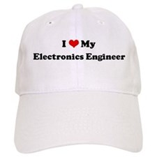 I Love Electronics Engineer Baseball Cap