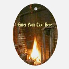 Colonial Fireplace Ornament (Oval)