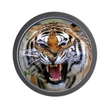 FIERCE BENGAL TIGER Wall Clock