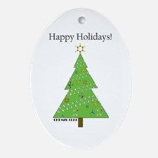 Chemis-Tree Ornament (Oval)