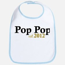 Pop Pop Est 2012 Bib
