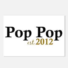 Pop Pop Est 2012 Postcards (Package of 8)