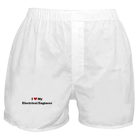 I Love Electrical Engineer Boxer Shorts