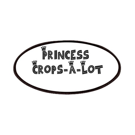Funky Princess Crops-A-Lot Patches
