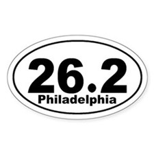 26.2 Philadelphia Marathon St Decal