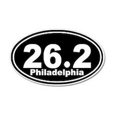 26.2 Philadelphia Marathon St 22x14 Oval Wall Peel