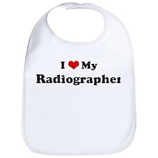 I Love Radiographer Bib