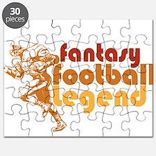Retro Fantasy Football Legend Puzzle