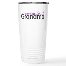 Grandma Est 2012 Travel Coffee Mug