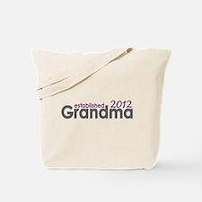 Grandma Est 2012 Tote Bag