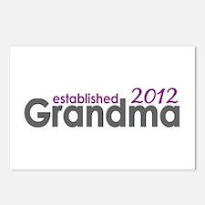Grandma Est 2012 Postcards (Package of 8)