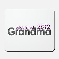 Grandma Est 2012 Mousepad