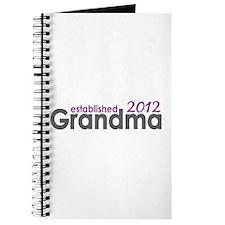 Grandma Est 2012 Journal
