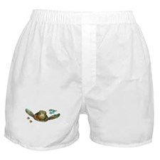 Flying Sea Turtle Boxer Shorts