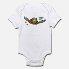 Flying Sea Turtle Infant Bodysuit