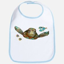 Flying Sea Turtle Bib