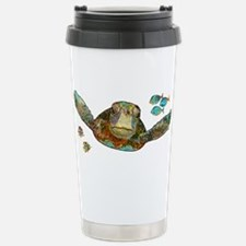 Flying Sea Turtle Travel Mug