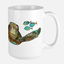Flying Sea Turtle Mug
