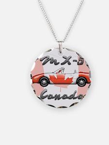 Miata MX5 Canada Necklace