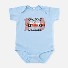 Miata MX5 Canada Infant Bodysuit
