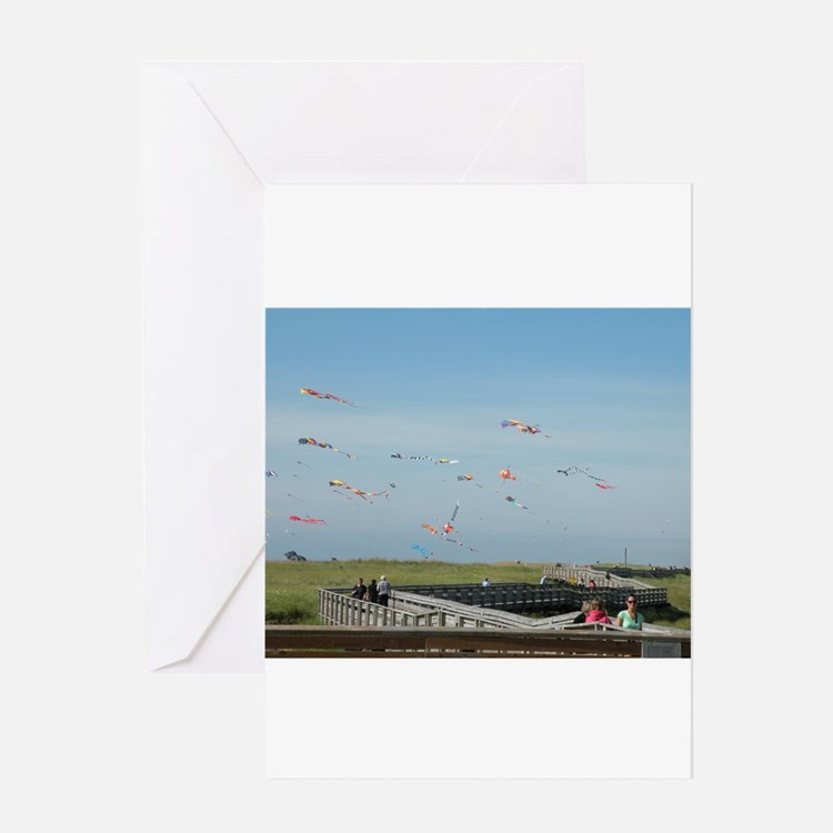 Fly a Kite Greeting Card