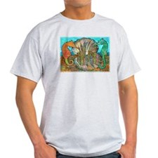 Sea Horse Castle T-Shirt