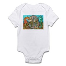 Sea Horse Castle Infant Bodysuit