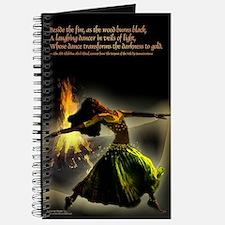 Unique Belly dancer Journal