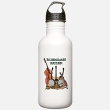 Funny Bluegrass music Water Bottle