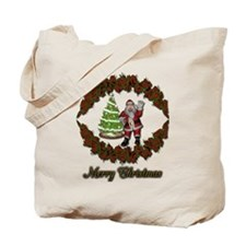 Christmas_Santa&Tree Tote Bag
