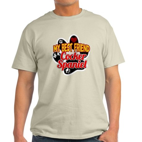 Cocker Spaniel Best Friend Light T-Shirt