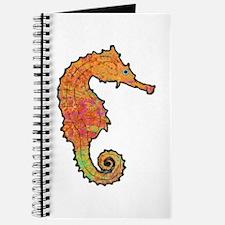 Orange Seahorse Journal